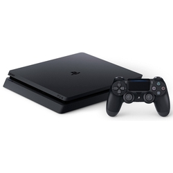 Sony PlayStation 4 Slim 500 ГБ (CUH-2108A)+Horizon Zero Dawn+Uncharted 4+God of War 3+PSN 3 мес.+ крышка HDD белая (черный)