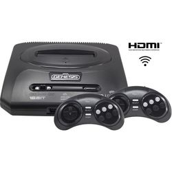 Sega Retro Genesis HD Ultra 2 + 50 игр (черный)