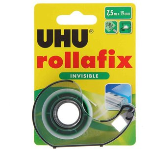 UHU Скотч ROLLAFIX INVISIBLE 36960
