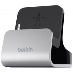 Док-станция Belkin для iPhone 5, 5S, SE, 6, 6 Plus, 6S, 6S Plus (F8J045bt) (серебристо-черный)
