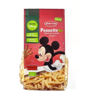 Макаронные изделия Dalla Costa Disney Mickey Mouse Pennette Bio (с 3-х лет)