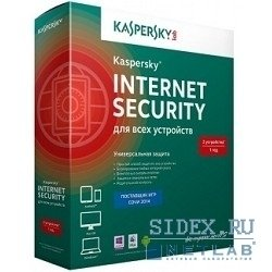 Kaspersky Internet Security Multi-Device Russian Edition 2-Device 1 year Renewal Box (KL1941RBBFR)