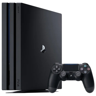Sony PlayStation 4 Pro 1Tb (ConPS493) + Fortnite voucher 2019 (черный)