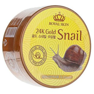 Гель для тела Royal Skin 24K Gold Snail Soothing Gel