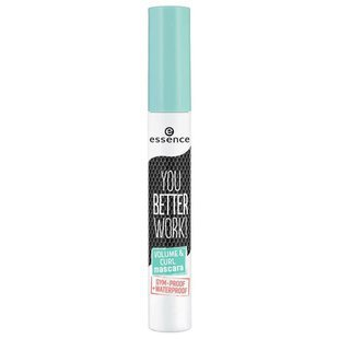 Essence Тушь для ресниц You better work! Volume & Curl Mascara