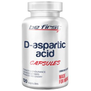 Be First D-Aspartic Acid (120 шт.)