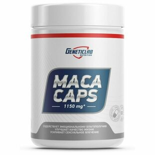 Geneticlab Nutrition Мака GeneticLab Maca Caps 575 мг 60 капс