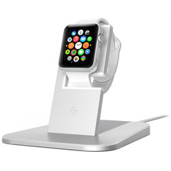 Подставка для Apple Watch Twelve South HiRise (12-1503) (серебристый)